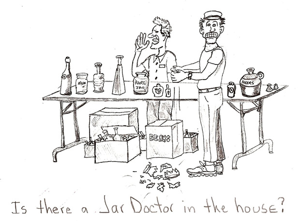 Is there a Jar Doctor in the house?
